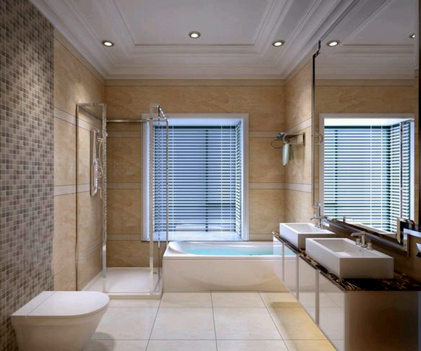 Modern bathrooms best designs ideas. (3)