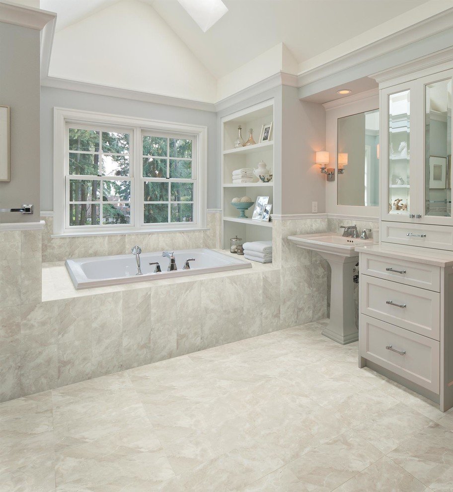 Pretty-American-Olean-method-Other-Metro-Traditional-Bathroom-Image-Ideas-with-10-x-14-tile-24-x-24-tile-american-olean-ceramic-wall-tile-grey