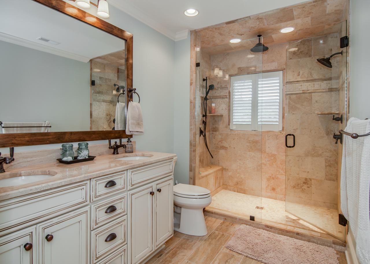 30 Great Pictures And Ideas Classic Bathroom Tile Design