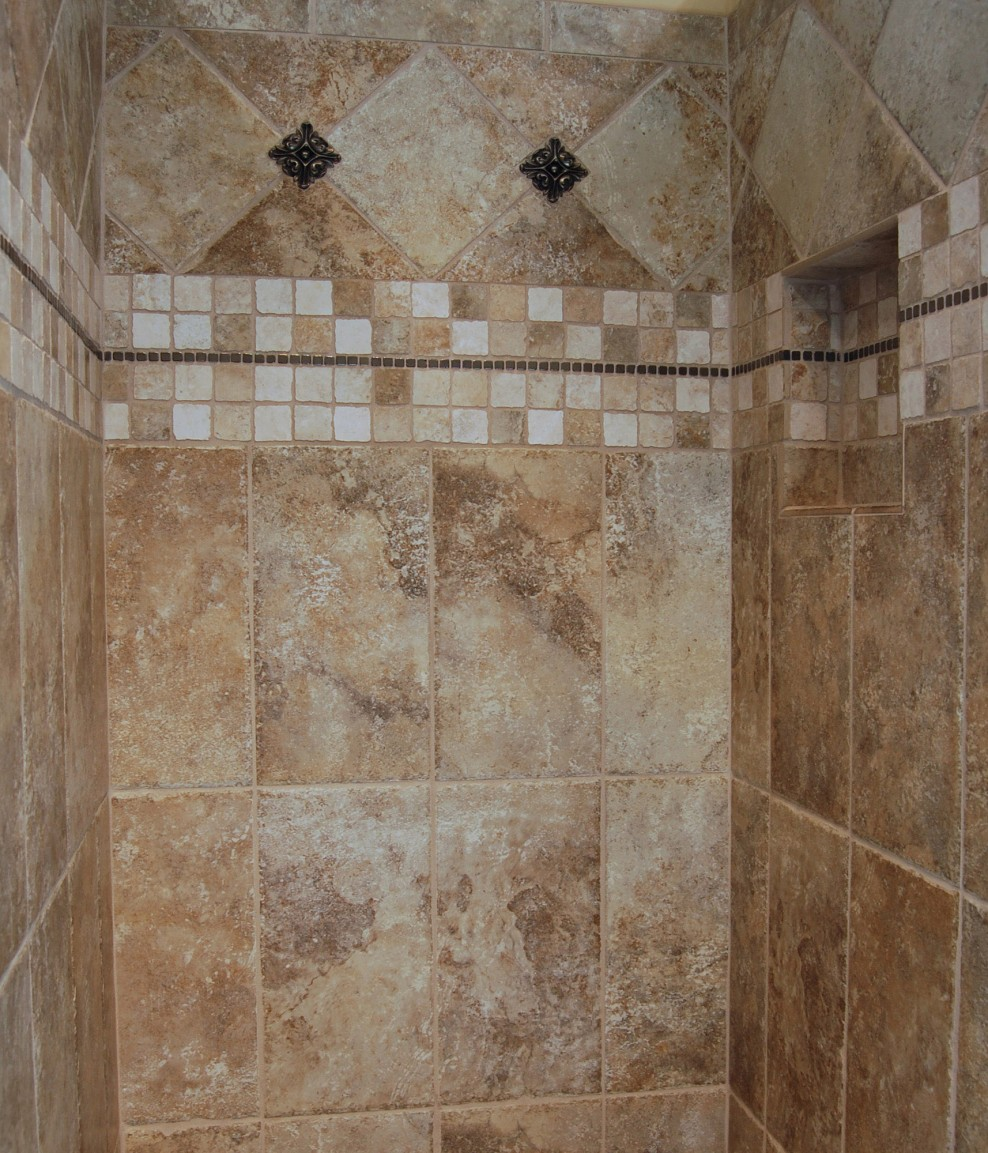 bathroom shower tile ideas photos 25 magnificent pictures and ideas decorative bathroom wall 22295