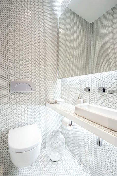 30 Pictures Of Small Hexagon Bathroom Tile Designs 2019