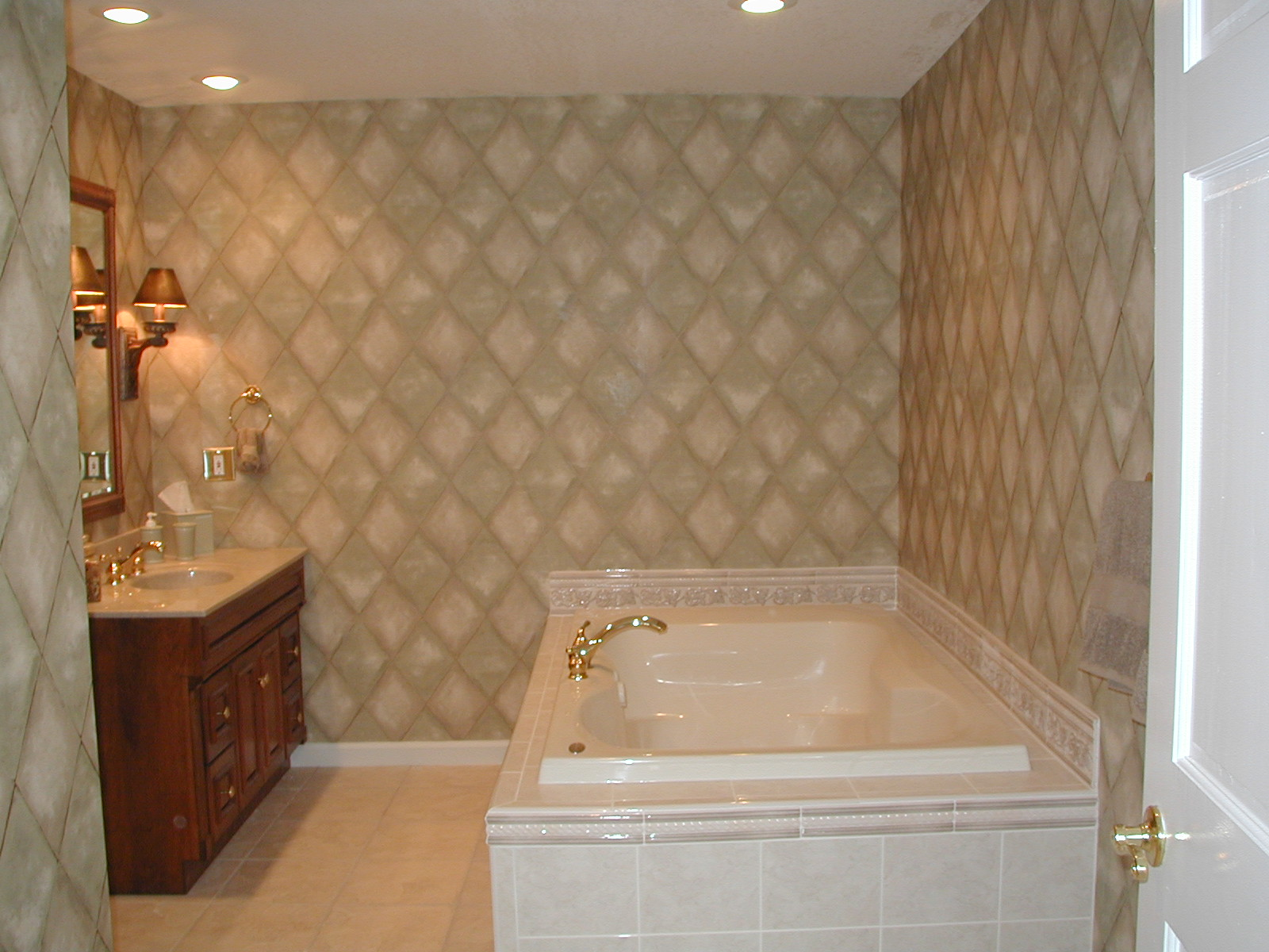30 cool ideas and pictures custom shower tile designs for Bathtub and shower designs
