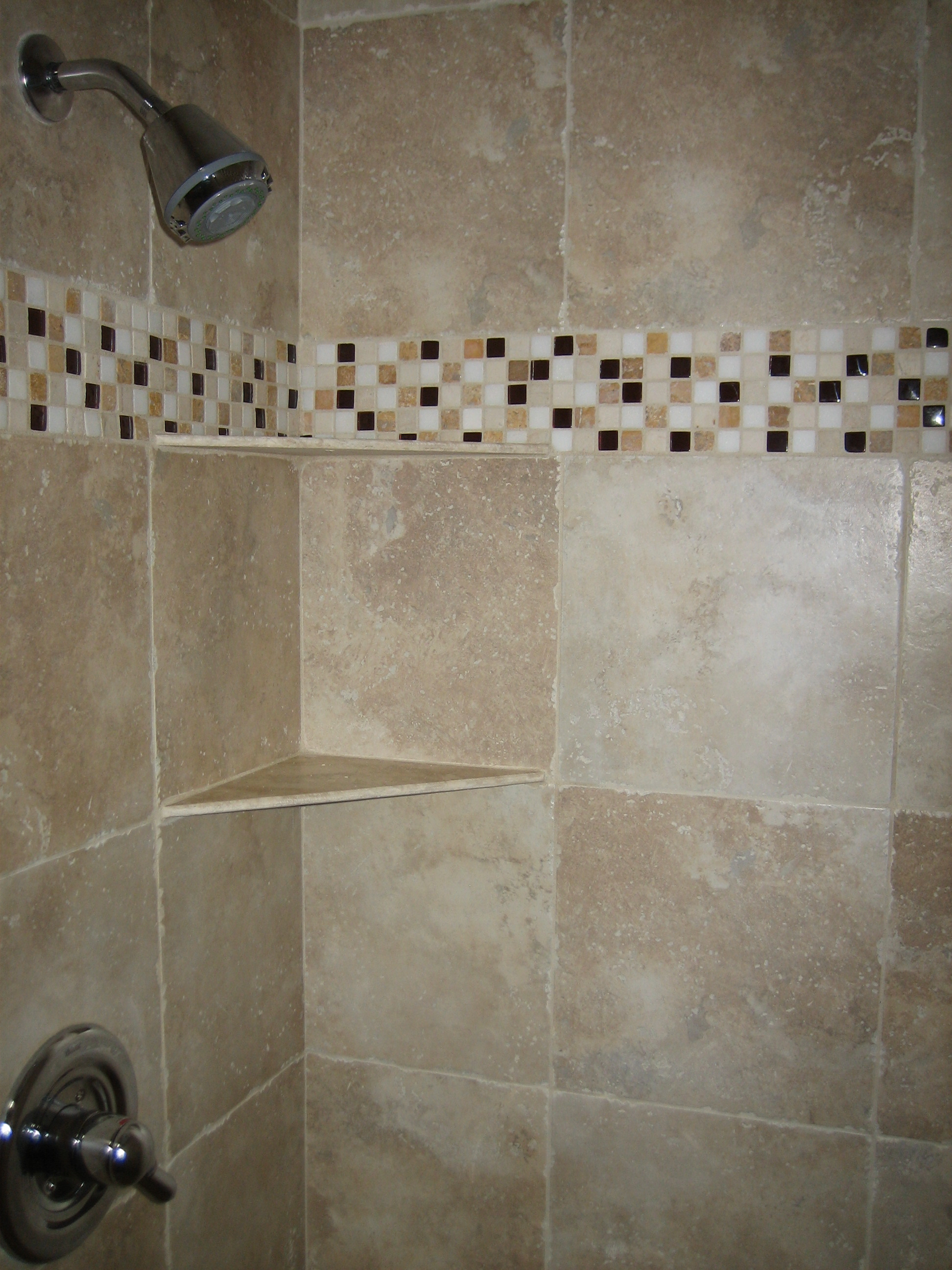 bathroom-inspiration-incredible-mosaic-ceramic-striped-patterns-with-neutral-shower-tile-ideas-as-well-as-chrome-wall-head-shower-and-corner-seating-shower-ideas-supreme-shower-tile-ideas-and-bathroo
