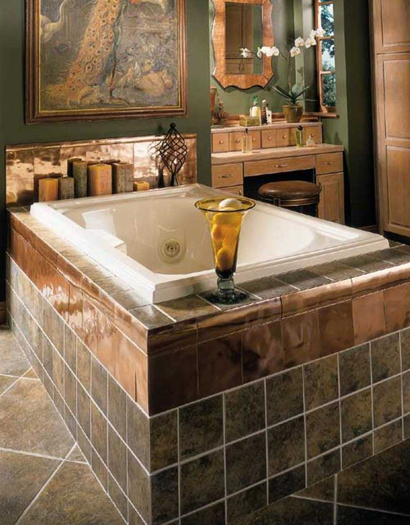30 beautiful pictures and ideas high end bathroom tile designs for Bathtub ideas