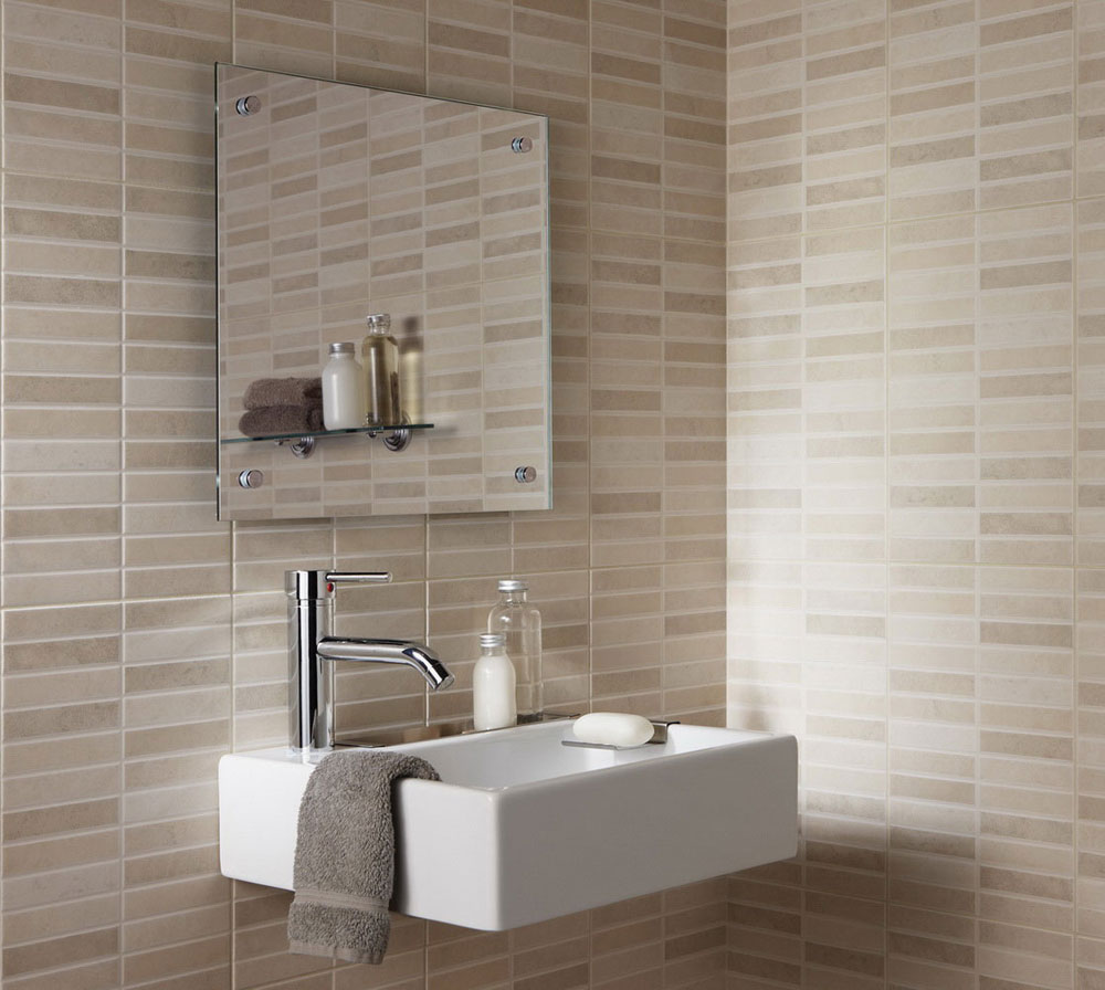 bathroom-modern-bathroom-tile-design-with-nice-brick-wall-pattern-combine-with-white-wall-mounted-sink-and-elegant-stainless-faucet-complete-with-mirror-tile-shower-ideas-patterns