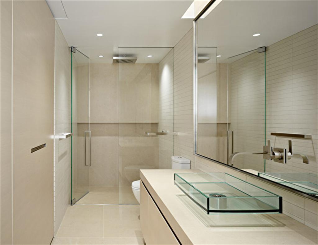 bathroom-small-bathroom-door-ideas-design-with-modern-glass-bathroom-door-and-beige-floor-tile-also-luxury-glass-wastafel-with-large-mirror-fabulous-design-for-bathroom-door-ideas