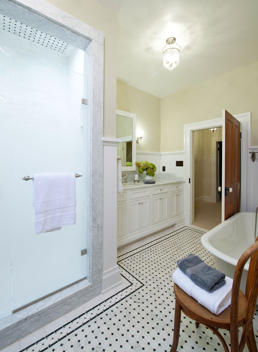 bathroom-with-white-tile-floor