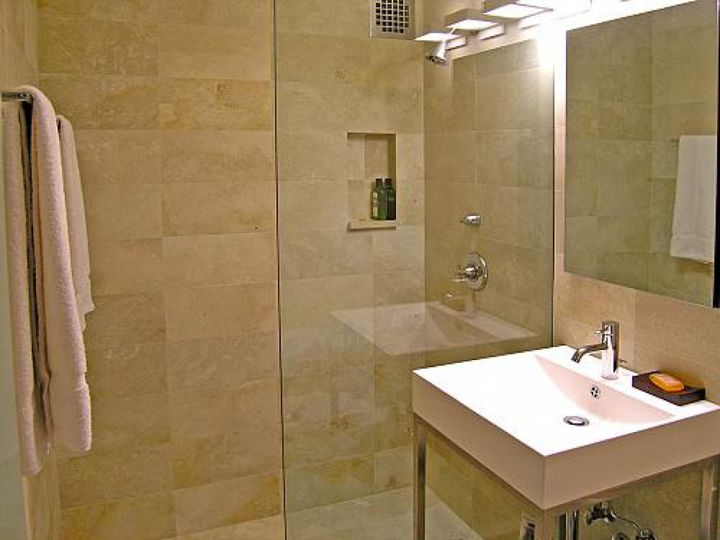 Not Using Tiles Bathroom Ideas: 30 Nice Pictures And Ideas Bath And Tile Innovations