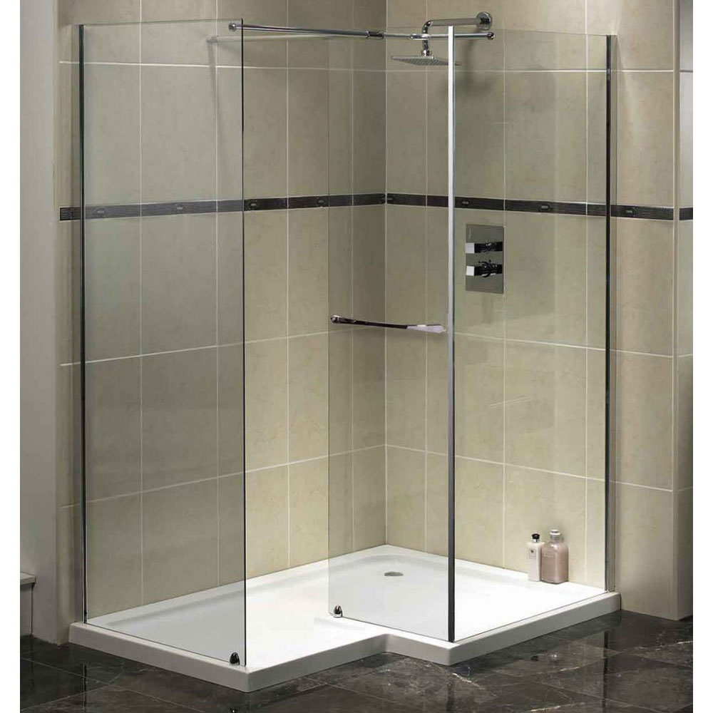 bathroom-wonderful-bathroom-design-idea-with-cornered-shower-room-designed-with-white-l-shaped-shower-pan-and-frame-less-glass-wall-combine-with-cream-tile-wall-and-dark-granite-floor-bathroom-shower