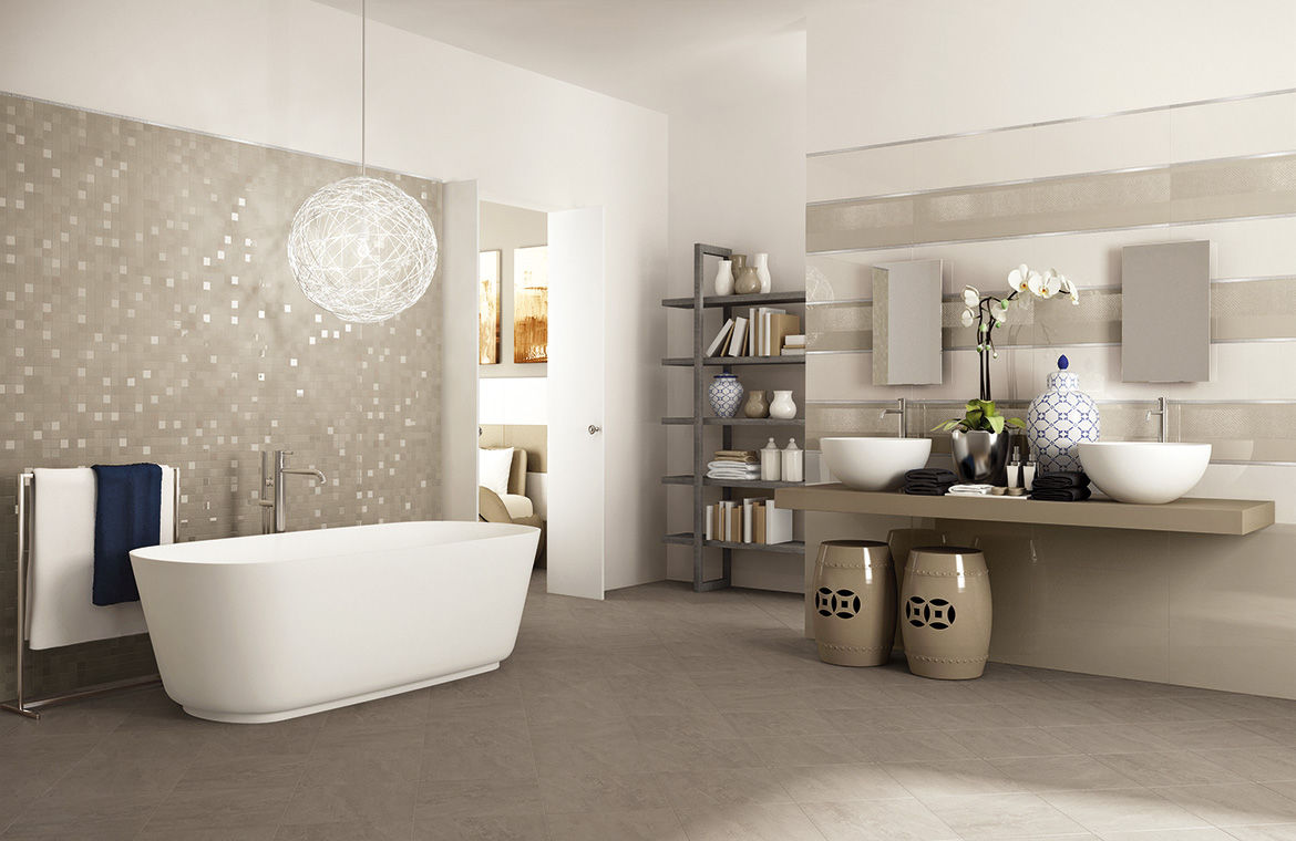bathrooms-modern-elegant-brown-open-space-bathroom-design-ideas-featuring-beautiful-etoile-ceramic-mosaic-pattern-wall-tile-design-by-artemateria-nice-wall-and-floor-tile-designs-for-modern-bathroom