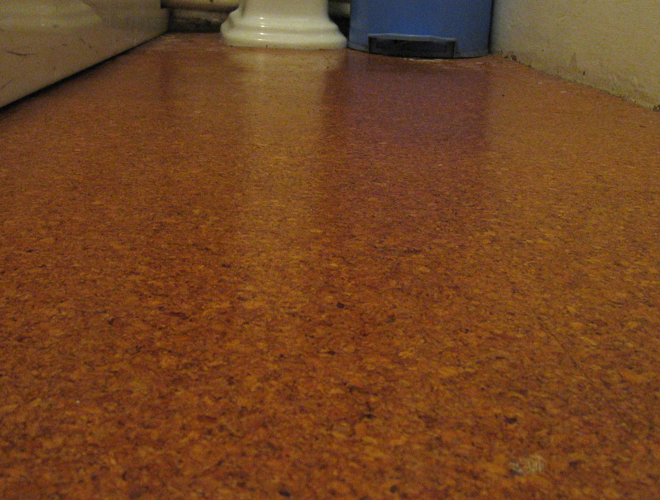30 available ideas and pictures of cork bathroom flooring for Linoleum cork
