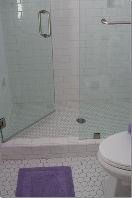 small hexagon bathroom tiles 30 pictures of small hexagon bathroom tile designs 20546
