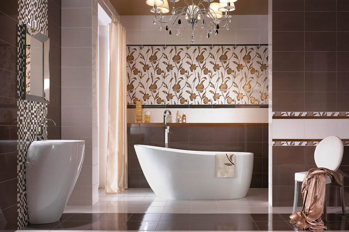 30 cool pictures and ideas of digital wall tiles for bathroom for Tiles bathroom design