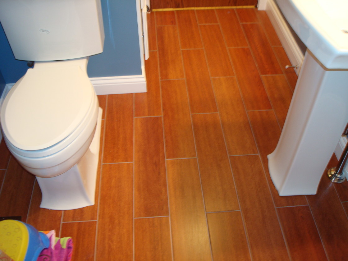 ... Cork Bathroom Flooring Color ...