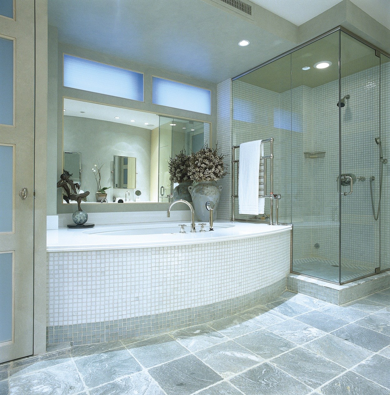 140 Large Glass Tiles - the 25 best glass tile bathroom ideas on ...