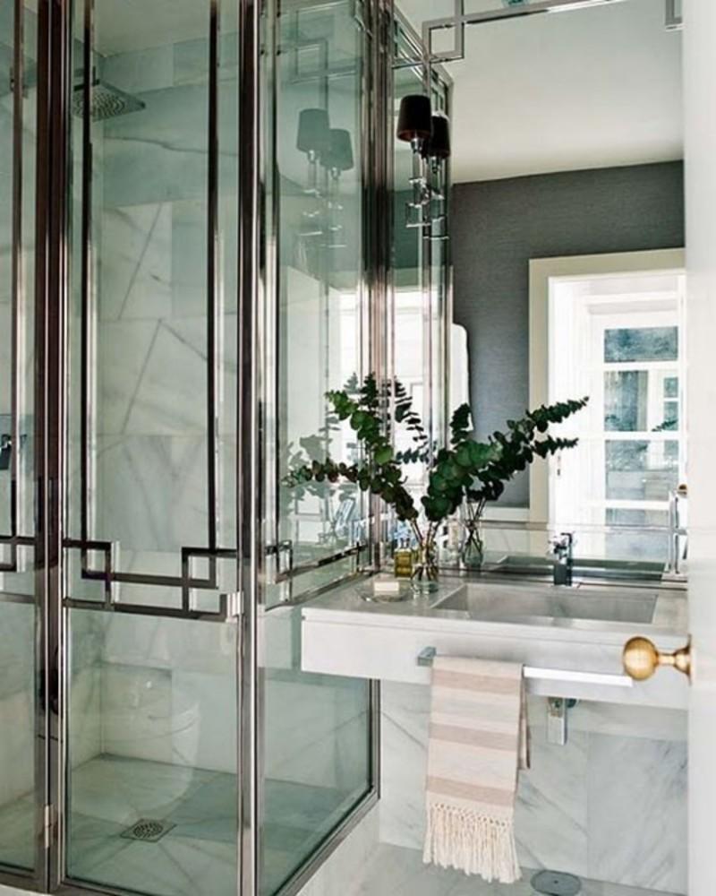 30 magnificent pictures and ideas art deco bathroom floor - Art deco decorating ideas ...