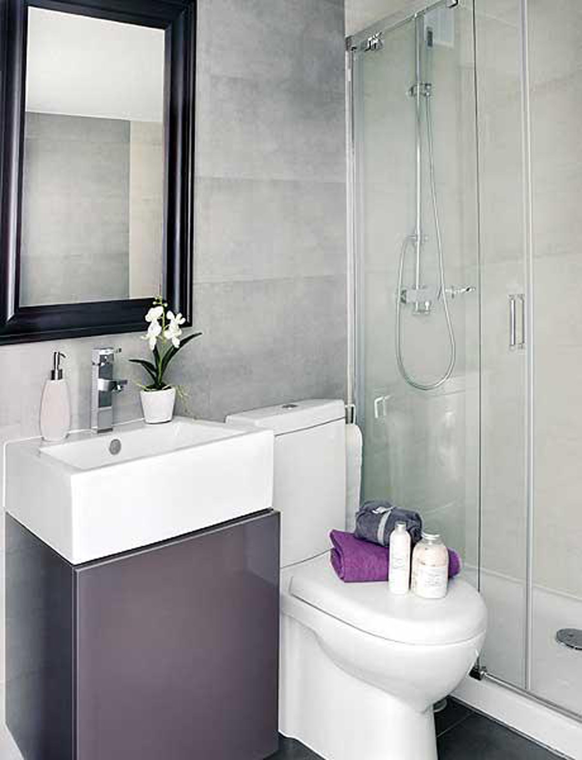 interior-inspiring-apartment-design-bathroom-design-interior-small-bathrooms-bathroom-design-ideas-with-shower-and-elongated-toilet-also-undermount-bath-sink-mirror-flower-pot-ornament-ceramics-tiles