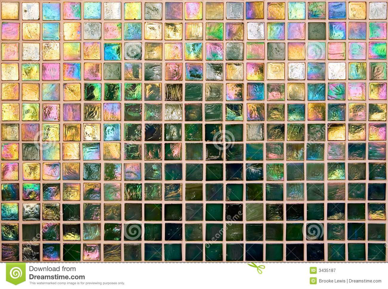 25 Great Ideas And Pictures Of Iridescent Bathroom Tiles
