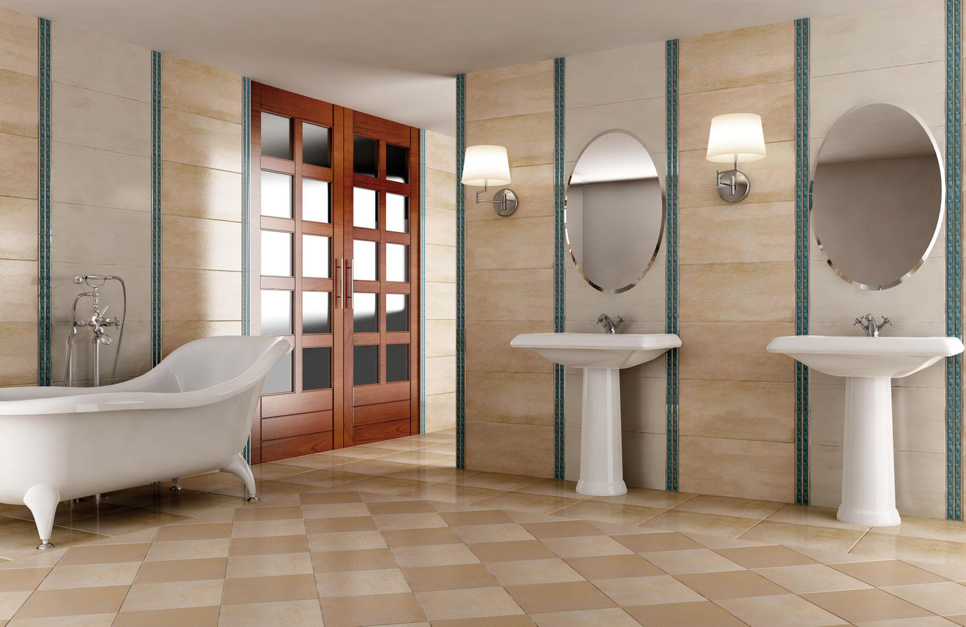 30 great pictures and ideas of decorative ceramic tiles for Bathroom ideas edinburgh