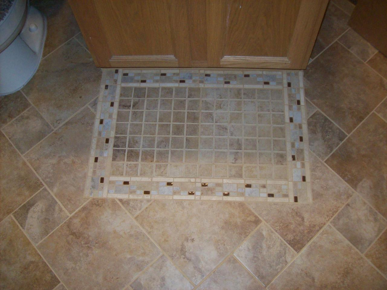 30 magnificent ideas and pictures decorative bathroom floor tile - Decorative bathroom tiles ...
