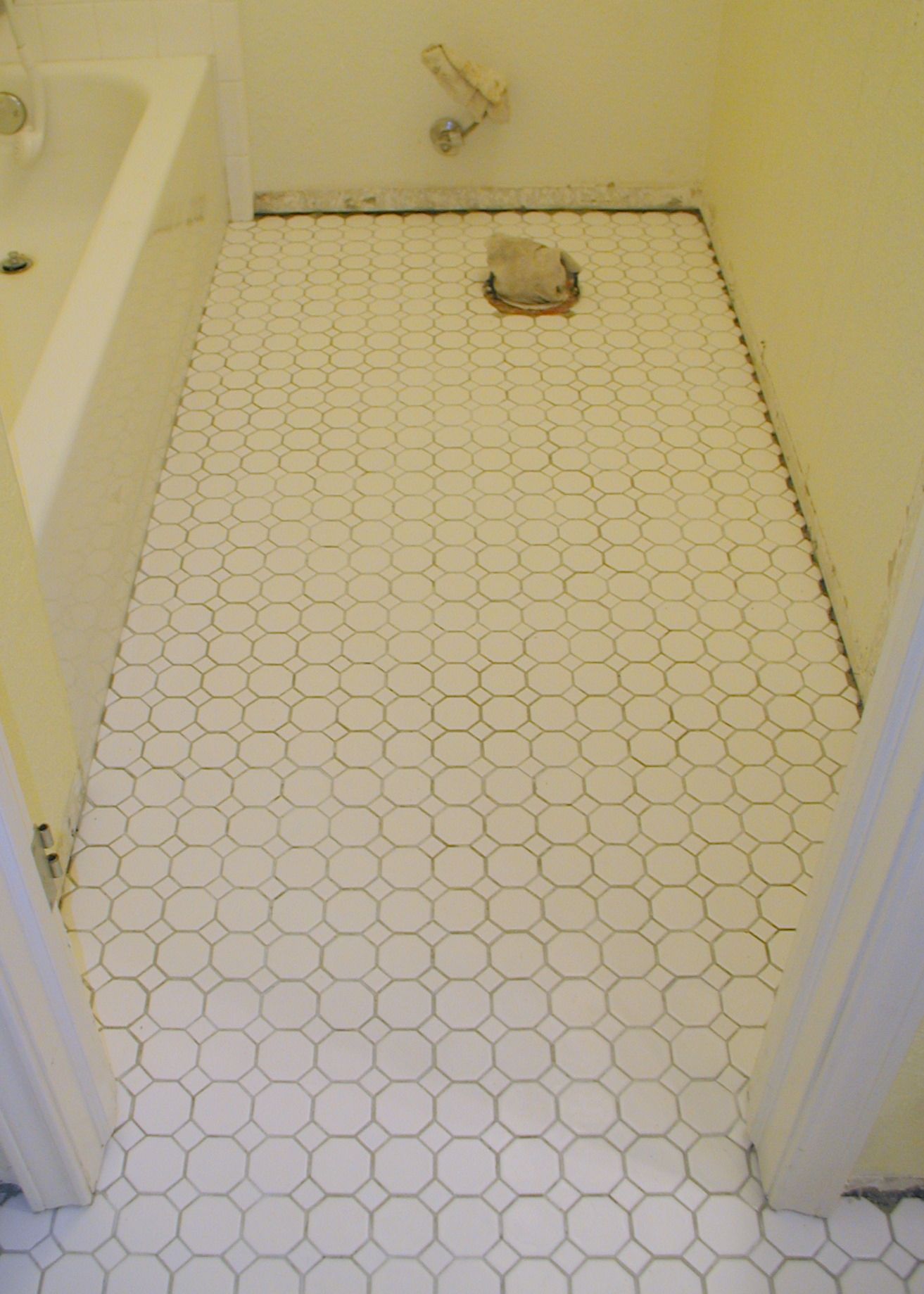 Excellent Bathroom Floor Tile Is Available  Similar To The Laminate Material That Covered Kitchen Countertops For A Generation Or Two, The Tiles Dont Significantly Raise The Height Of The Existing Floor, Which Makes It Easier To Plan Transitions From