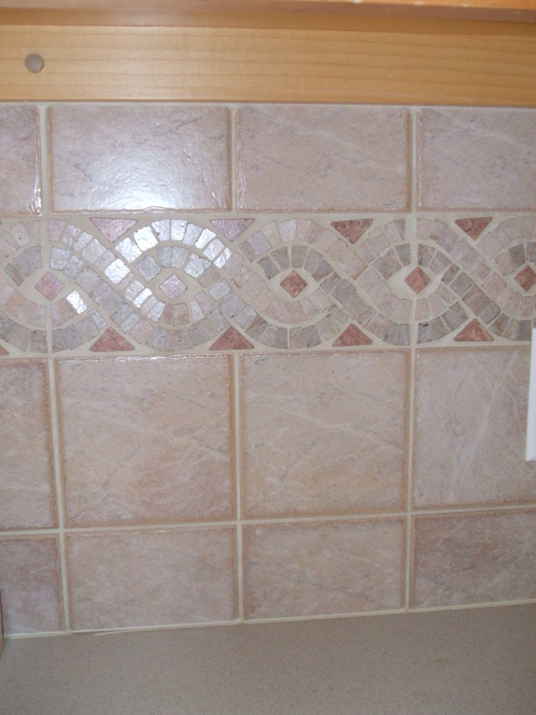 30 great pictures and ideas of decorative ceramic tiles for Fancy bathroom wall tiles