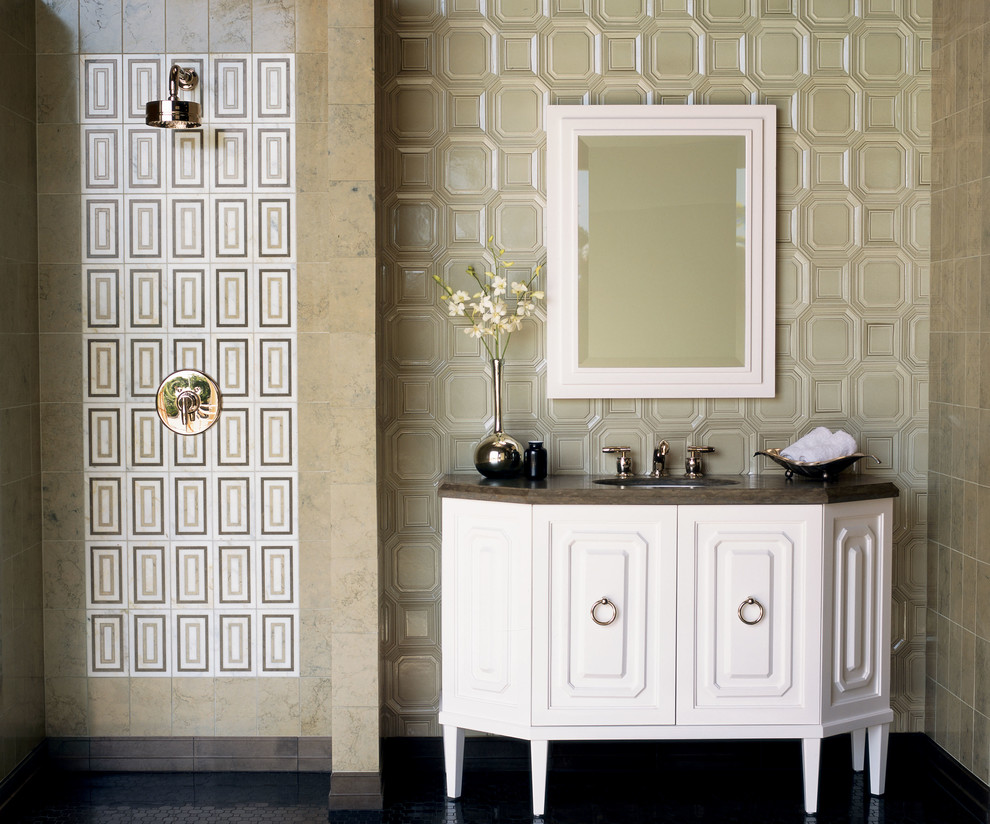 kohler-memoirs-toilet-Bathroom-Contemporary-with-decorative-tile-wall-