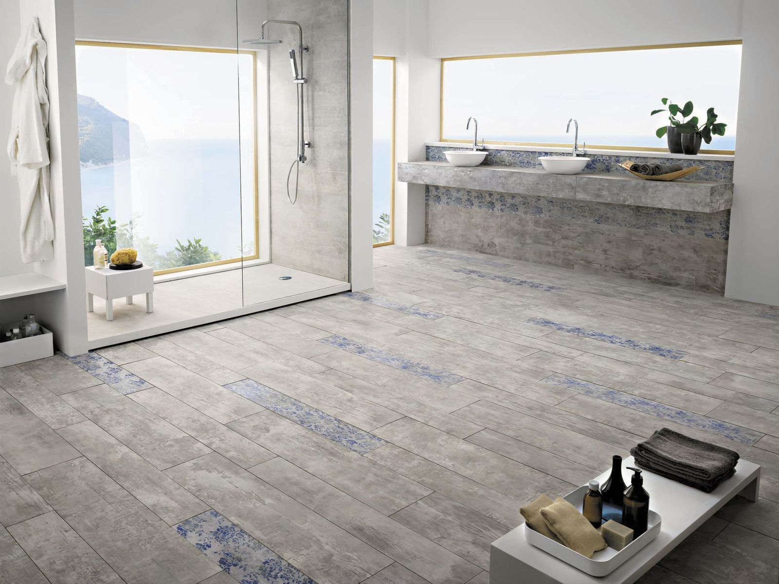 30 magnificent ideas and pictures decorative bathroom floor tile archiexpo dailygadgetfo Gallery