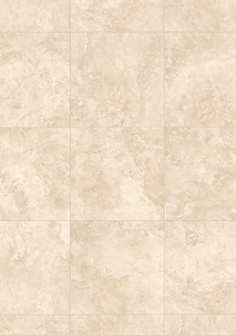 Laminate Tile Flooring Travertine Effect Cream Floor Tiles