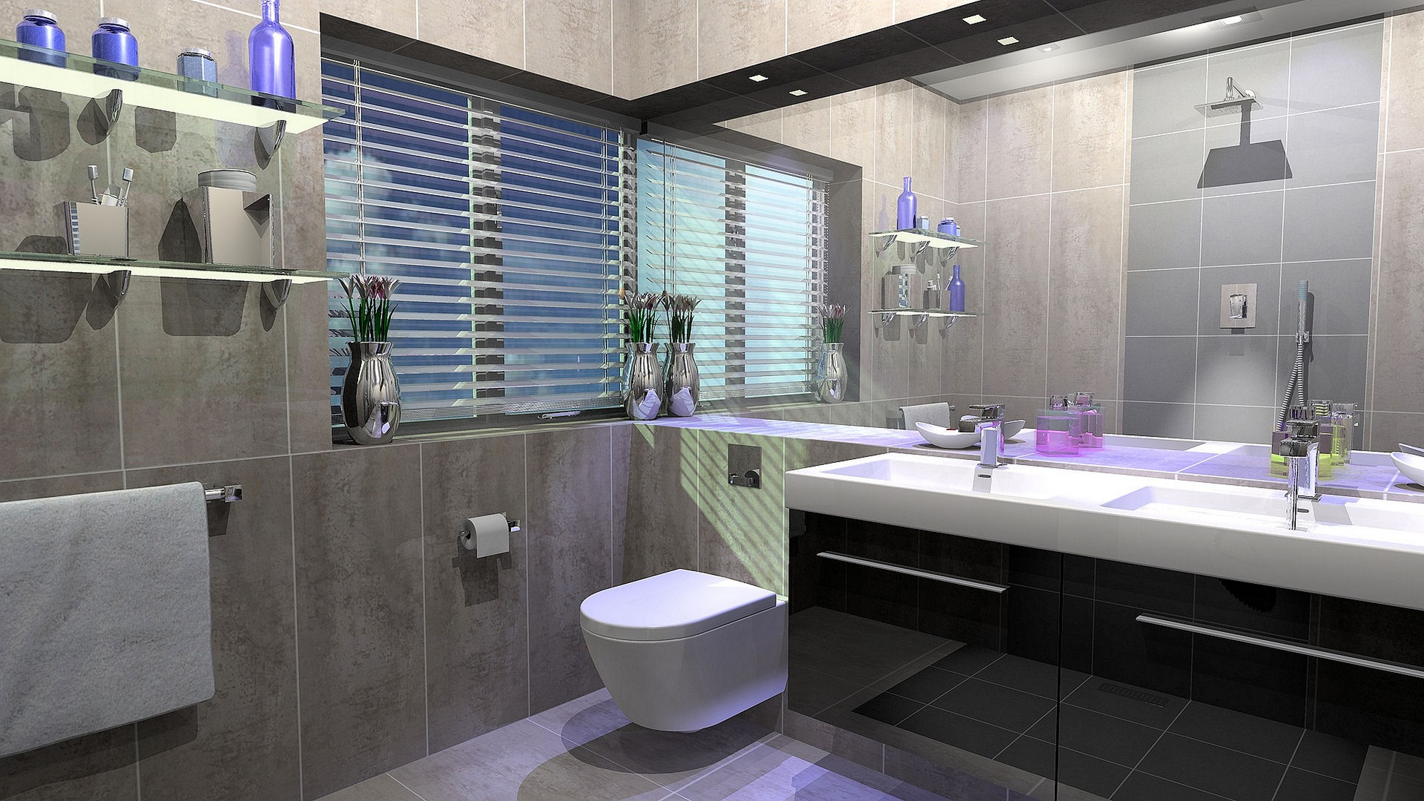 luxury-bathroom-decorating-ideas-as-bathroom-tile-designs-with-simple-ornaments-to-make-for-Bathroom-design-inspiration-1