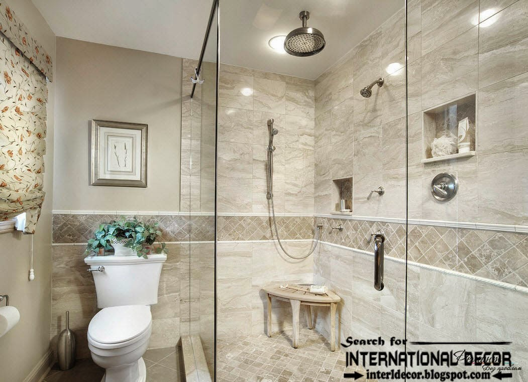 30 cool ideas and pictures custom bathroom tile designs for Bathroom walls designs