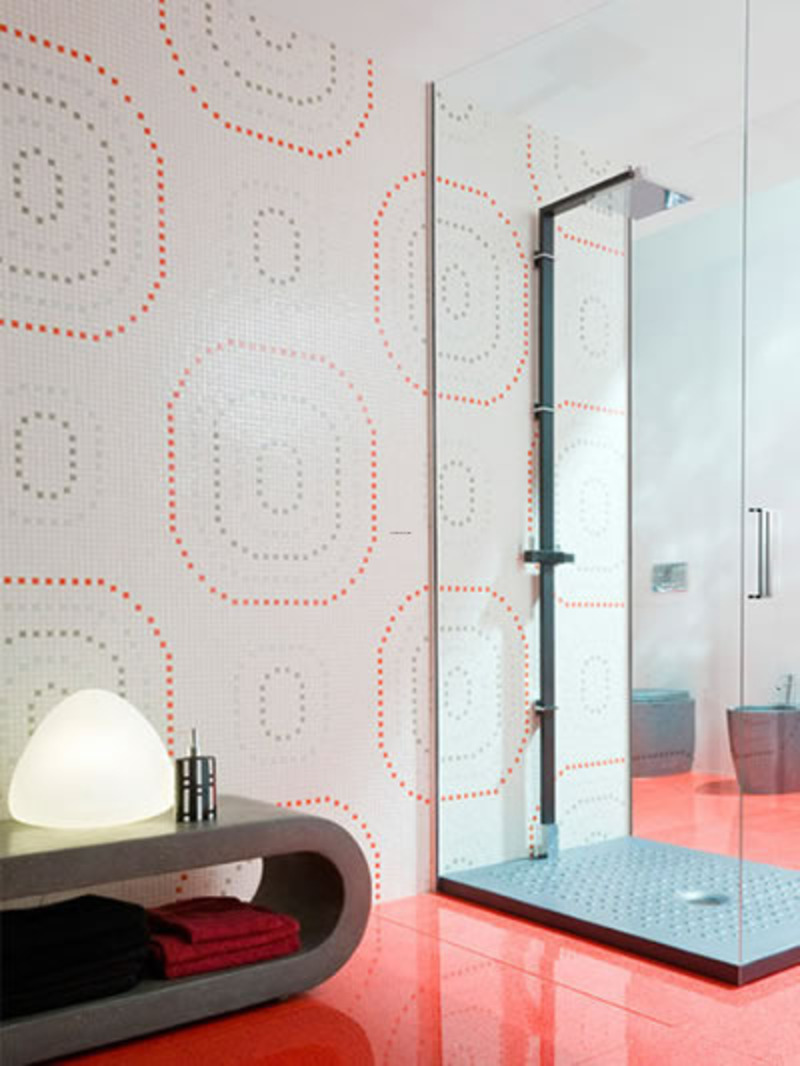 Tiling a bathroom was usually a uniform hospital-like affair of solid white-tiled hygiene. The bathroom tile ideas you choose and their design will influence the whole look of your bathroom. After all, you probably want a beautiful bathroom tile designs that is pleasant and relaxing to be in every day, with tiles that look great, are long-lasting, and are safe to walk on.
