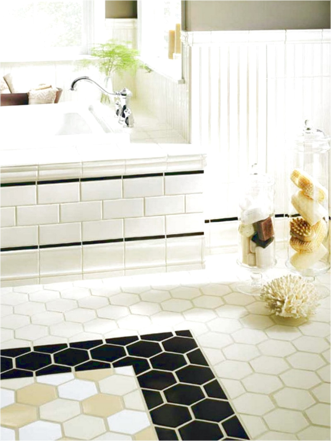 30 ideas on using hex tiles for bathroom floors popular types of bathroom wall tiles nice and dailygadgetfo Images