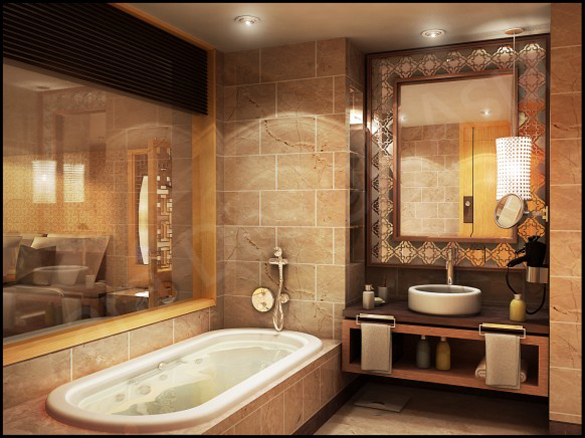 terrific-high-end-bathroom-accessories-with-ceramic-bathroom-tile-flooring-ideas