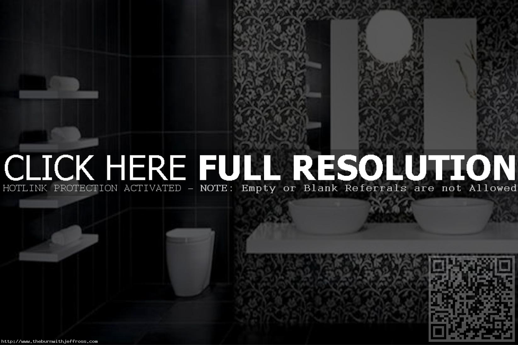 wonderful-luxury-bathroom-design-displaying-modern-bathroom-tiles-black-white-monochromatic-color-schemes