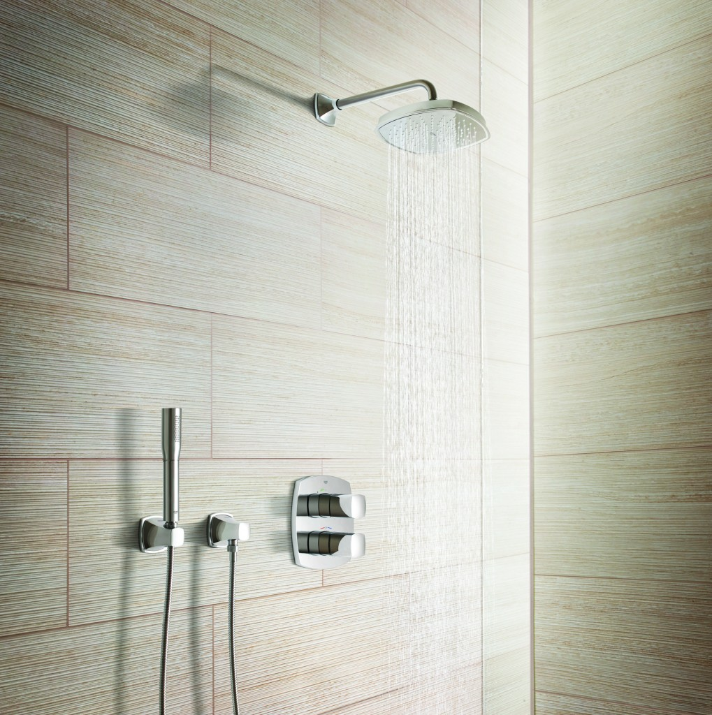 Wood Tile Shower Floor Bathroom Bathroom Luxury Bathroom Design With