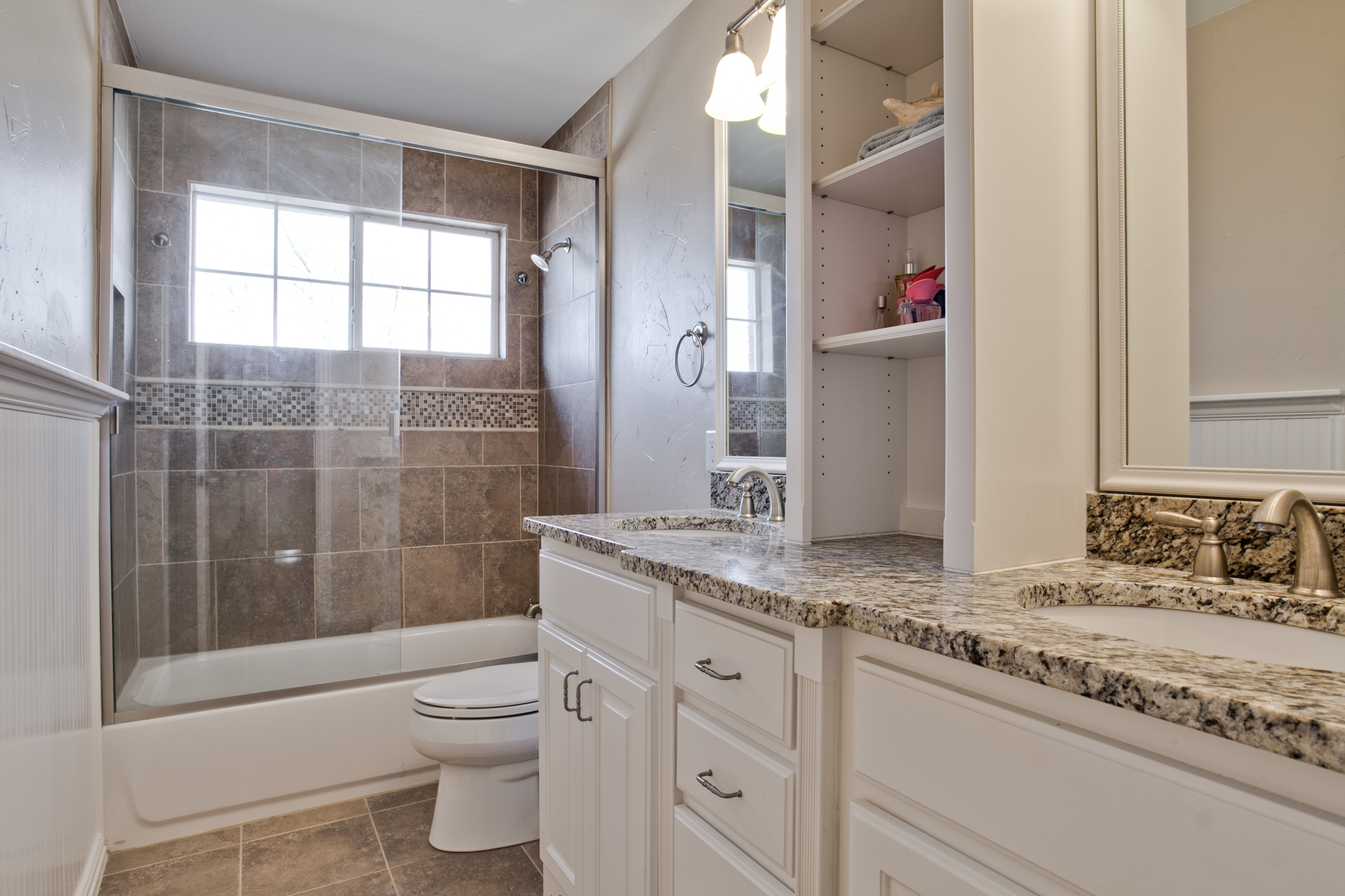50-Smart-Bathroom-Storage-Ideas-with-White-Woods-Materials-And-Target-Shelves-Also-Drawers-Storage-With-Grey-Granite-On-Tops-Single-Sink-Ideas