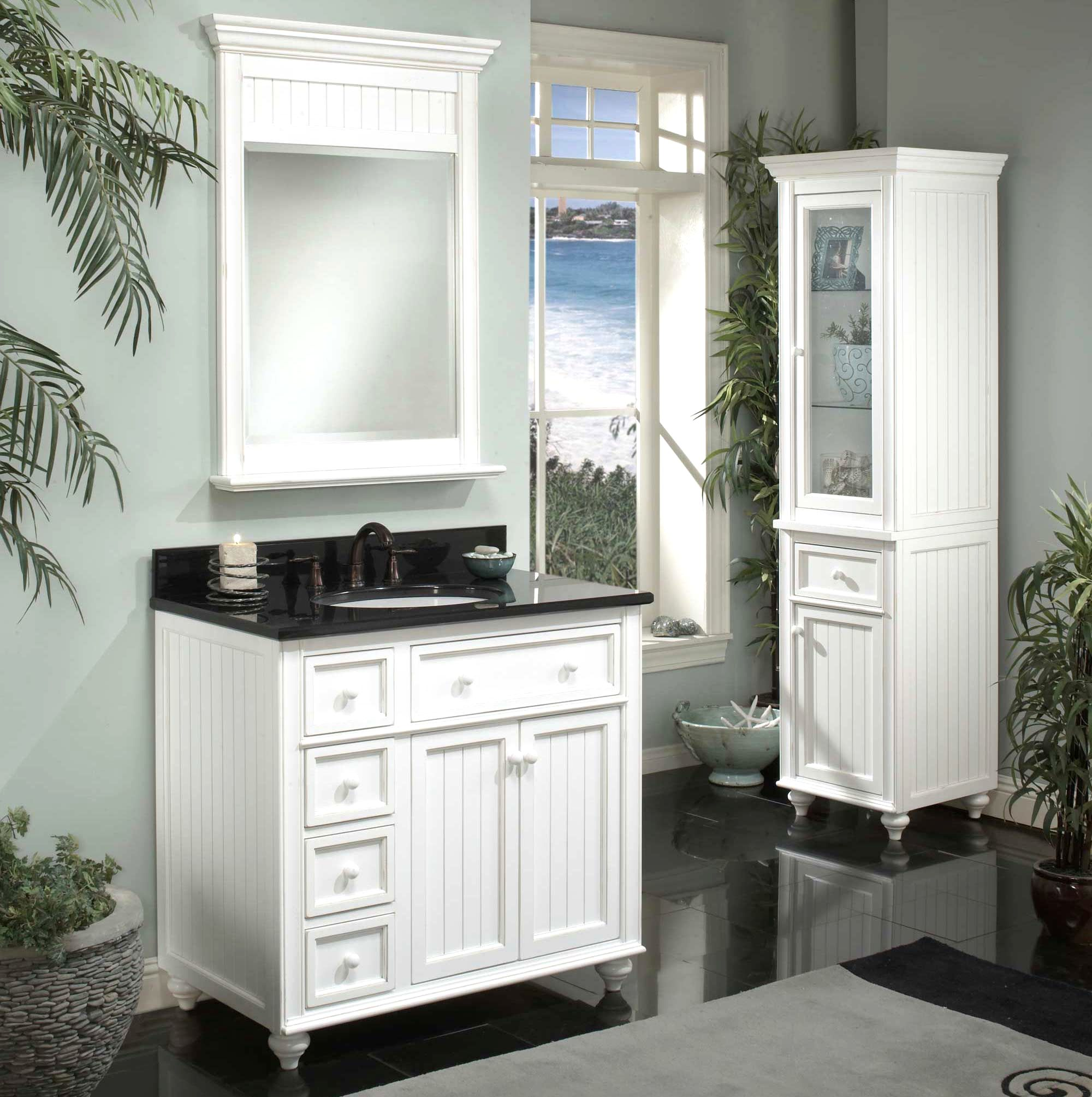 Cottage-Style-Bathroom-Vanity