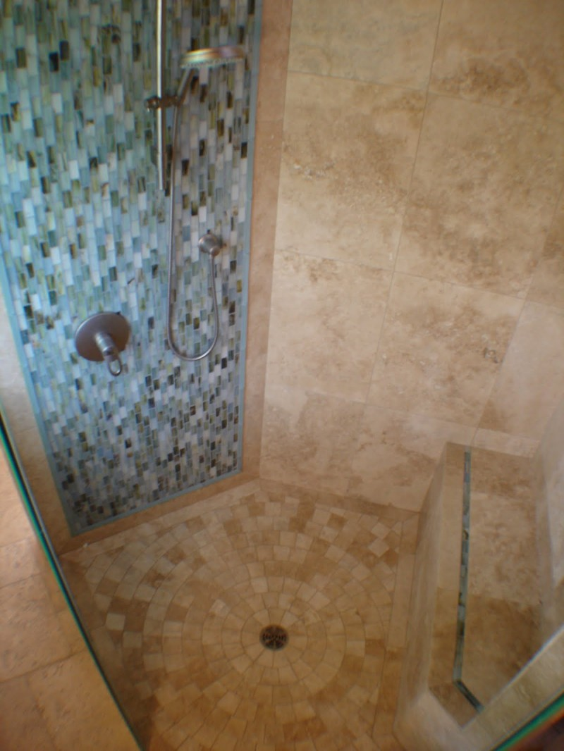 30 shower tile ideas on a budget for The ingenious ideas for bathroom flooring