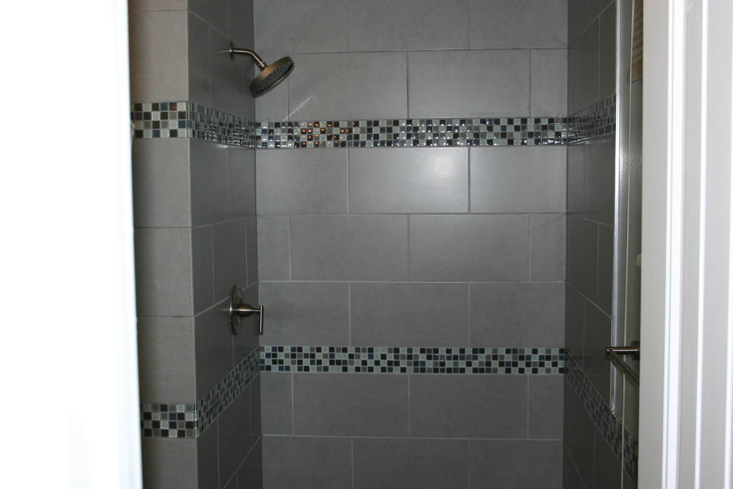 tiled bathrooms designs. Amusing-gray-color-wall-tile-bathroom-design-ideas- Tiled Bathrooms Designs D