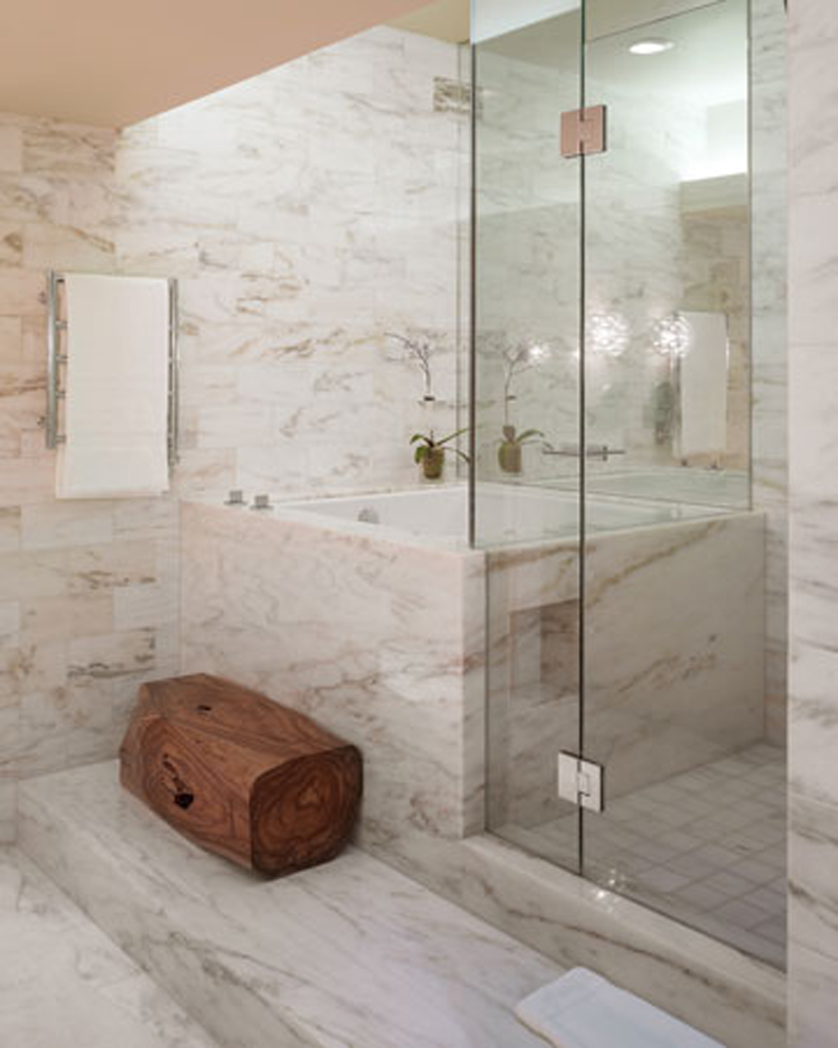 30 bathroom tile designs on a budget for Modern shower design