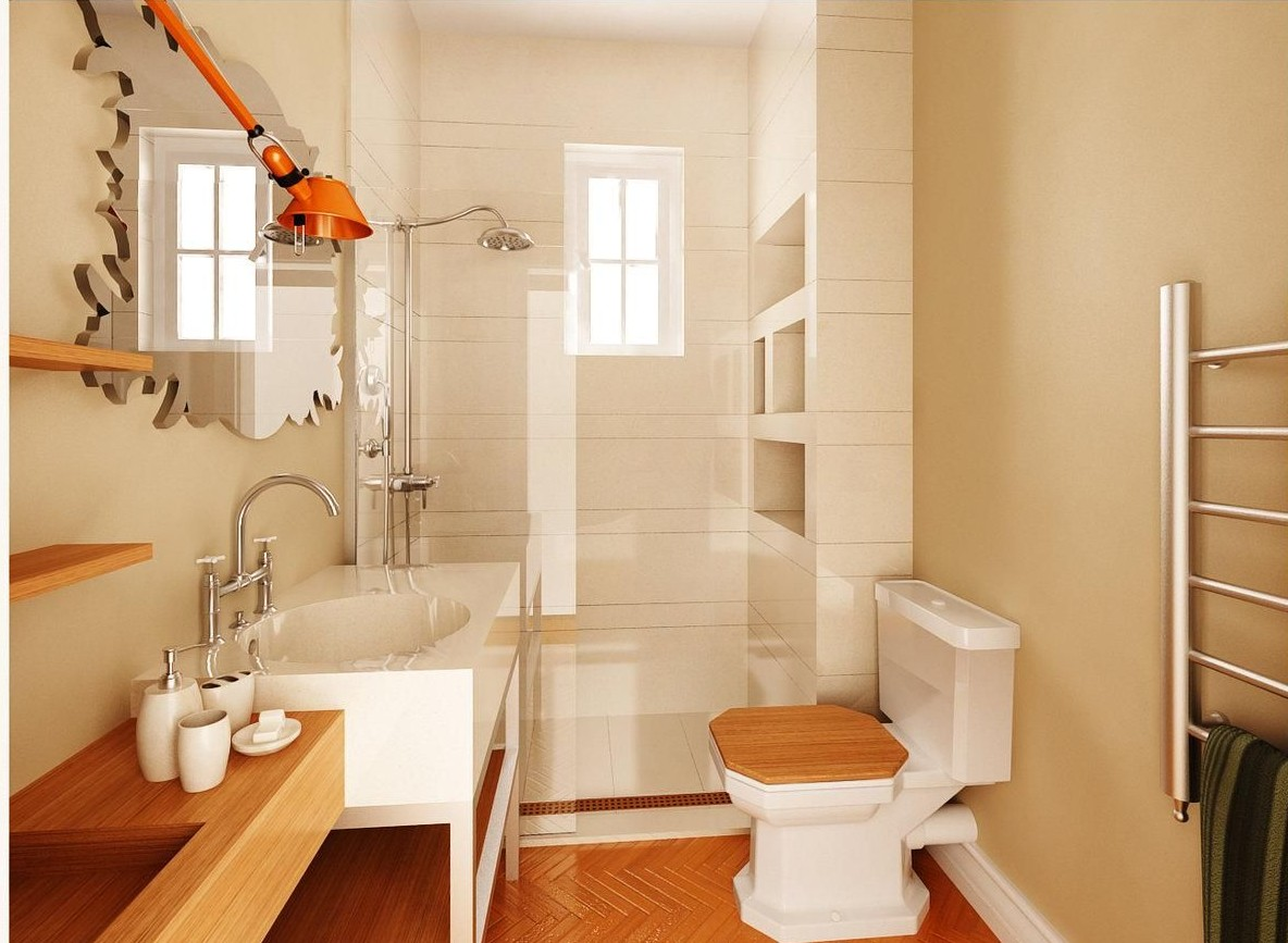 clean-high-end-bathroom-design-in-white-and-brown-woody-color-combination-e1408383871967
