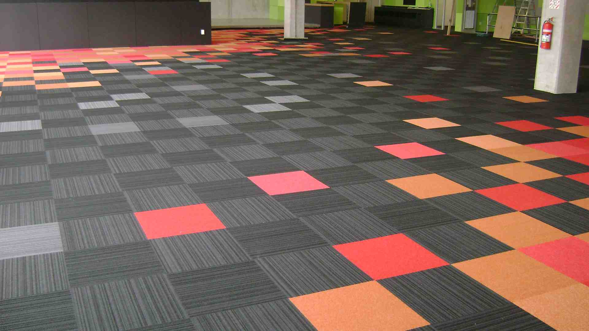 rubber floor tiles - Carpet Tile Design Ideas