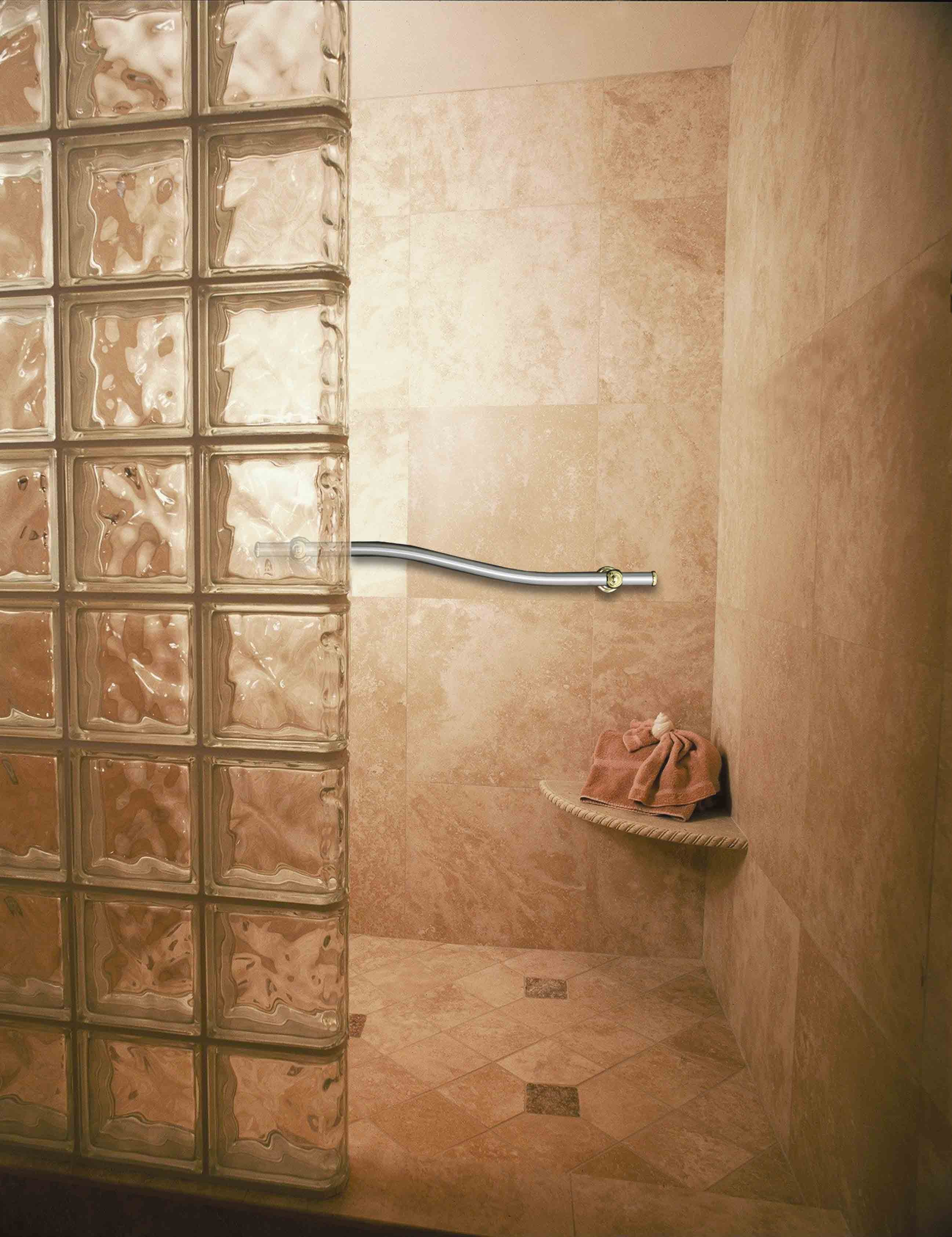 ordinary-shower-wall-design-ideas-9-rustic-in-shower-ideas-exquisite-walk-glass-block-wall-design-for-modern-bathroom