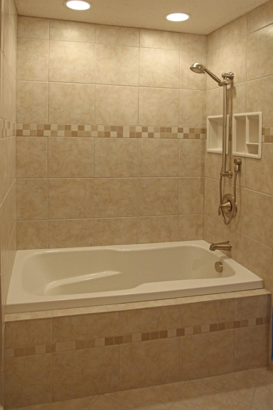 craftsman style bathroom tile