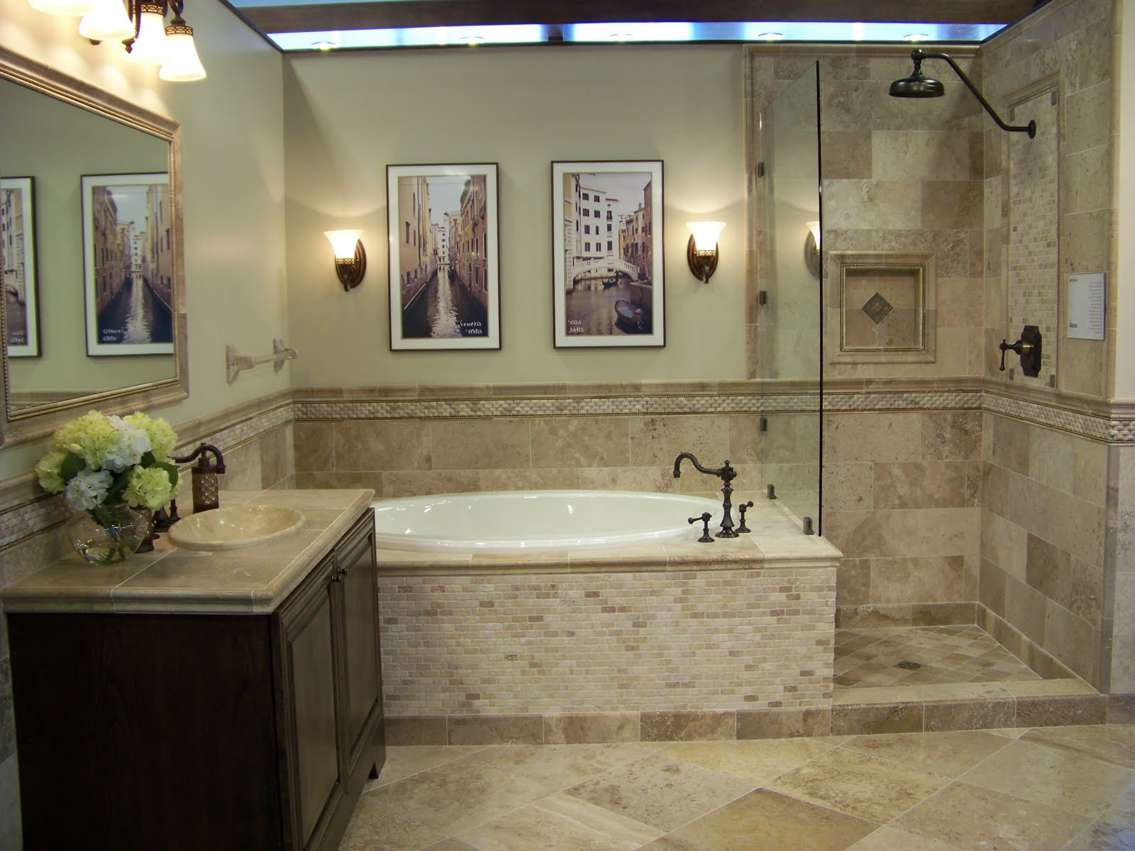 tile-for-bathroom-withal-mixture-of-travertine-tiles-gives-this-bathroom-an-earthy-natural